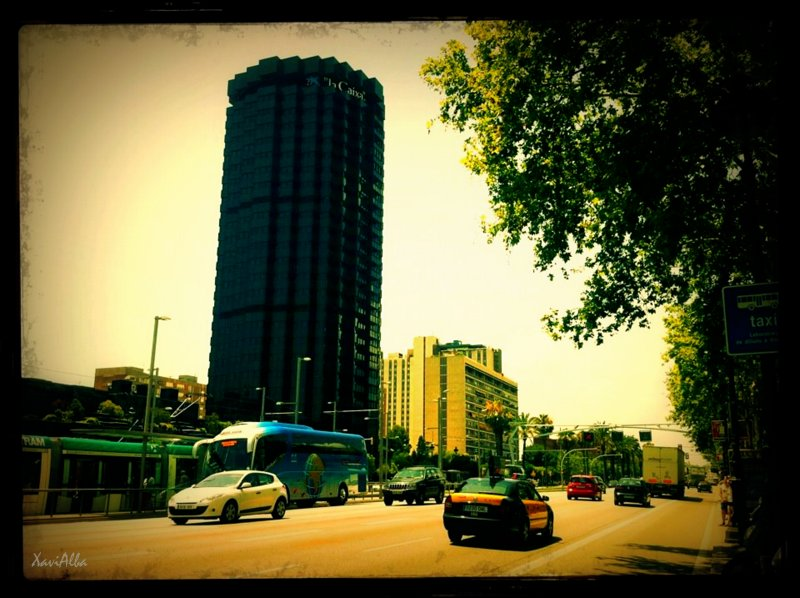Avinguda Diagonal, Torres de 'la caixa'.2012