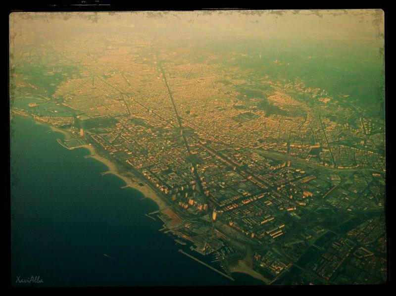 bcn desde aire ciutat