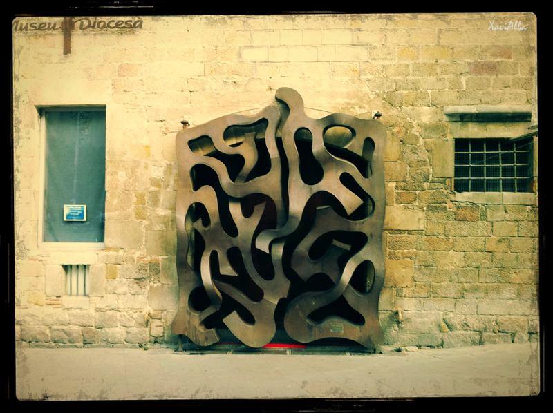 Porta del Palau Diocesà.2012
