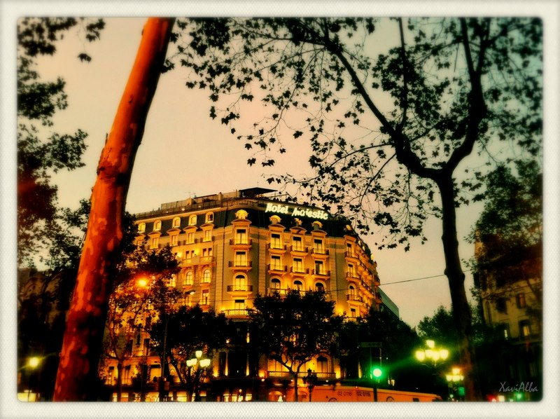 passeig de gràcia hotel majestic